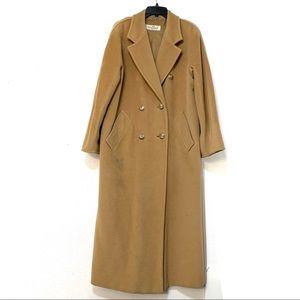 MaxMara camel oversized long wool/cashmere A408